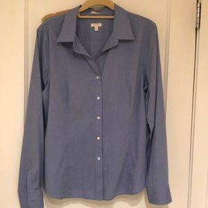 Talbots wrinkle resistant blouse size 16
